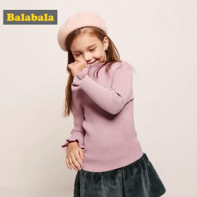 balabala 巴拉巴拉 女童套头打底衫 *2件