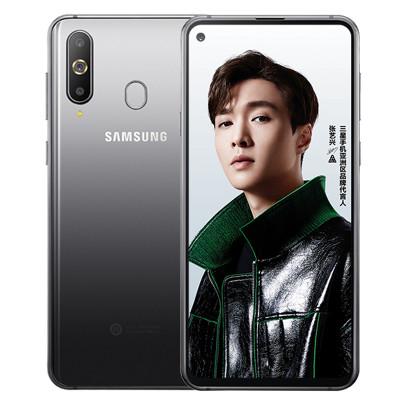 SAMSUNG 三星 Galaxy A8s (SM-G8870) 6GB+128GB 渐变色 莓什么(粉蓝)