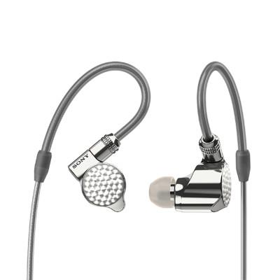 索尼(SONY)IER-Z1R (银色)入耳立体声有线耳机 动铁入耳式Hifi耳机