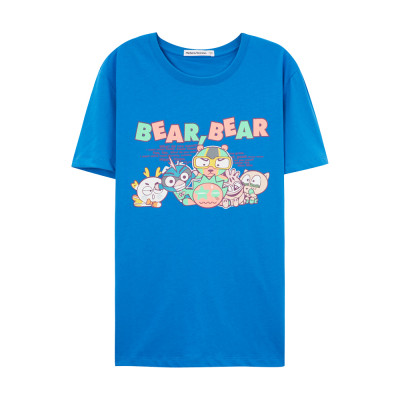 10点手快有!美特斯邦威 男士夏装字母组合短袖T恤