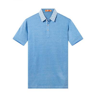 77元包邮  相思鸟 T1360 男士短袖POLO衫 *2件