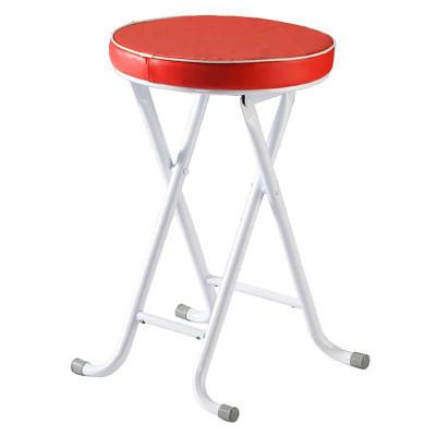 好事达酷炫钢折凳(红色)680-1-2137