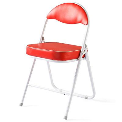 好事达酷炫扇形钢折椅(红色)680-1-2139