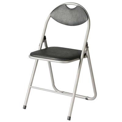 好事达实惠带孔扇形钢折椅(前H后U黑色)HT-GSY-X-6598(5)