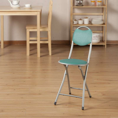 好事达实惠靠背钢折椅(绿色)6604(2)