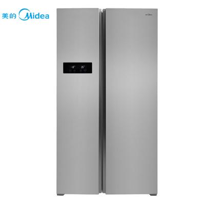 美的(Midea)BCD-516WKM(E) 516升 风冷无霜 电脑控温 节能静音 节能家用 双门欧式对开门电冰箱