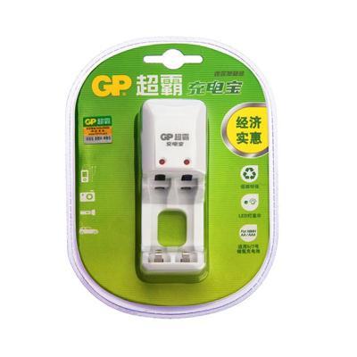 超霸5号7号充电宝迷你单载装GPKB02GW-2IL1 五号七号充电电池充电器