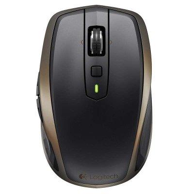 罗技(Logitech)MX Anywhere 2 无线蓝牙鼠标激光鼠标办公鼠标 蓝牙优联双模 微型USB接头