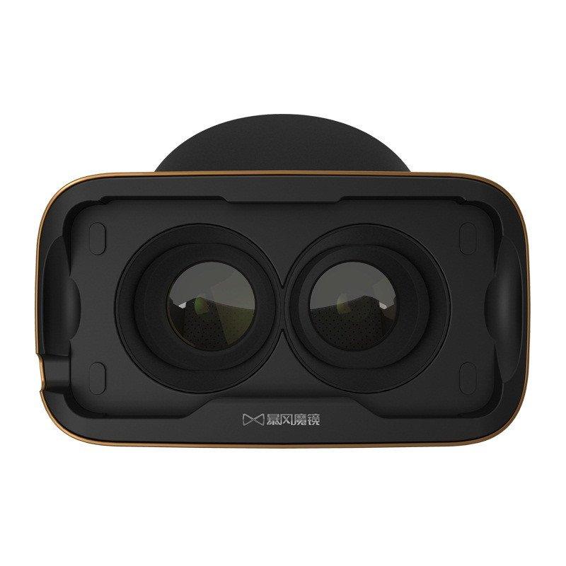 暴风魔镜4代 Iphone黄金版 IOS黄金版 虚拟现实 VR眼镜 智能眼镜 金色