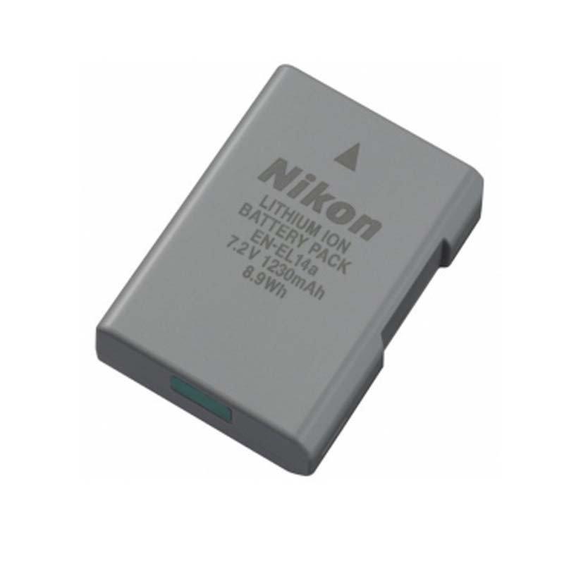尼康(Nikon) EN-EL14/14a 锂离子电池组 用于Df, D5300, D5200, D3300