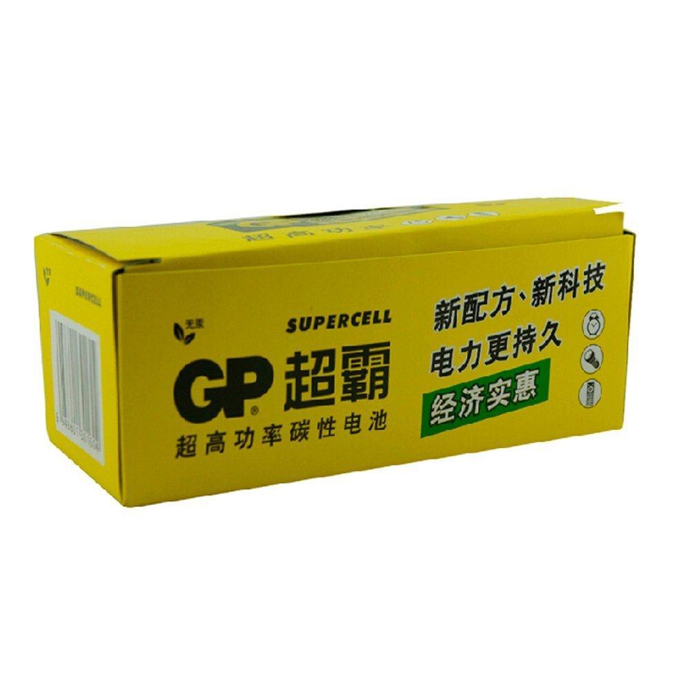 GP超霸通用5号40粒五号耐用碳性干电池 儿童玩具/血压计/血糖仪/遥控器/挂钟/键盘电池