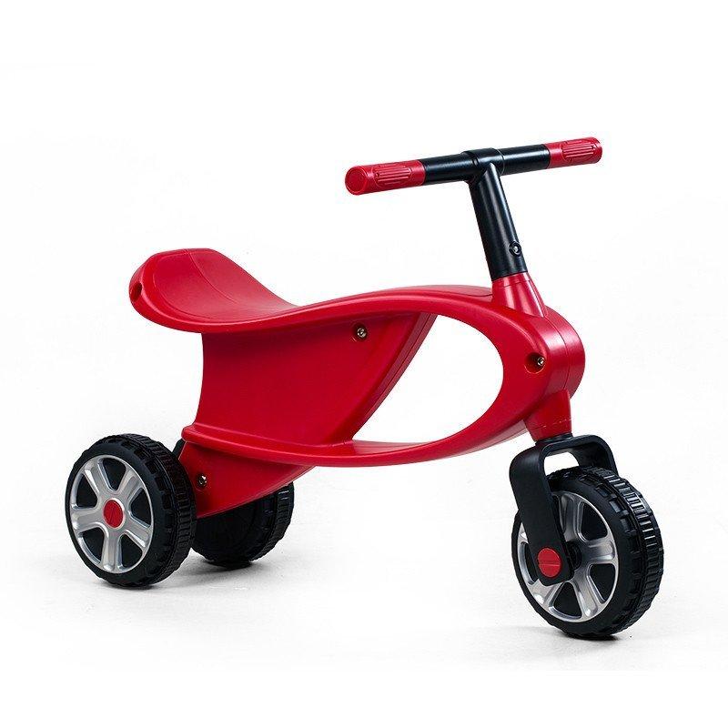 儿童三轮车图片_星辉(Rastar)儿童助学步车三轮跑跑车 宝宝滑行车1.5-3岁85200红色 ...