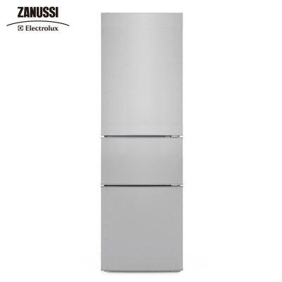 扎努西·伊莱克斯/ZANUSSI ZMM2100LPA 210升三门家用节能冷藏冷冻电冰箱(银色)