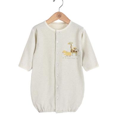 亿婴儿 新生儿连体衣婴儿睡袍睡袋连体衣哈衣 Y3016
