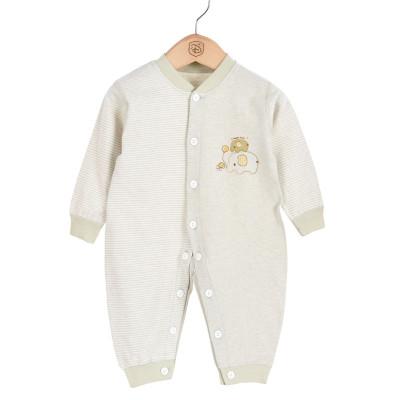亿婴儿 婴儿连体衣宝宝天然彩棉内衣新生儿哈衣爬服婴幼儿通用59-73cm Y3018