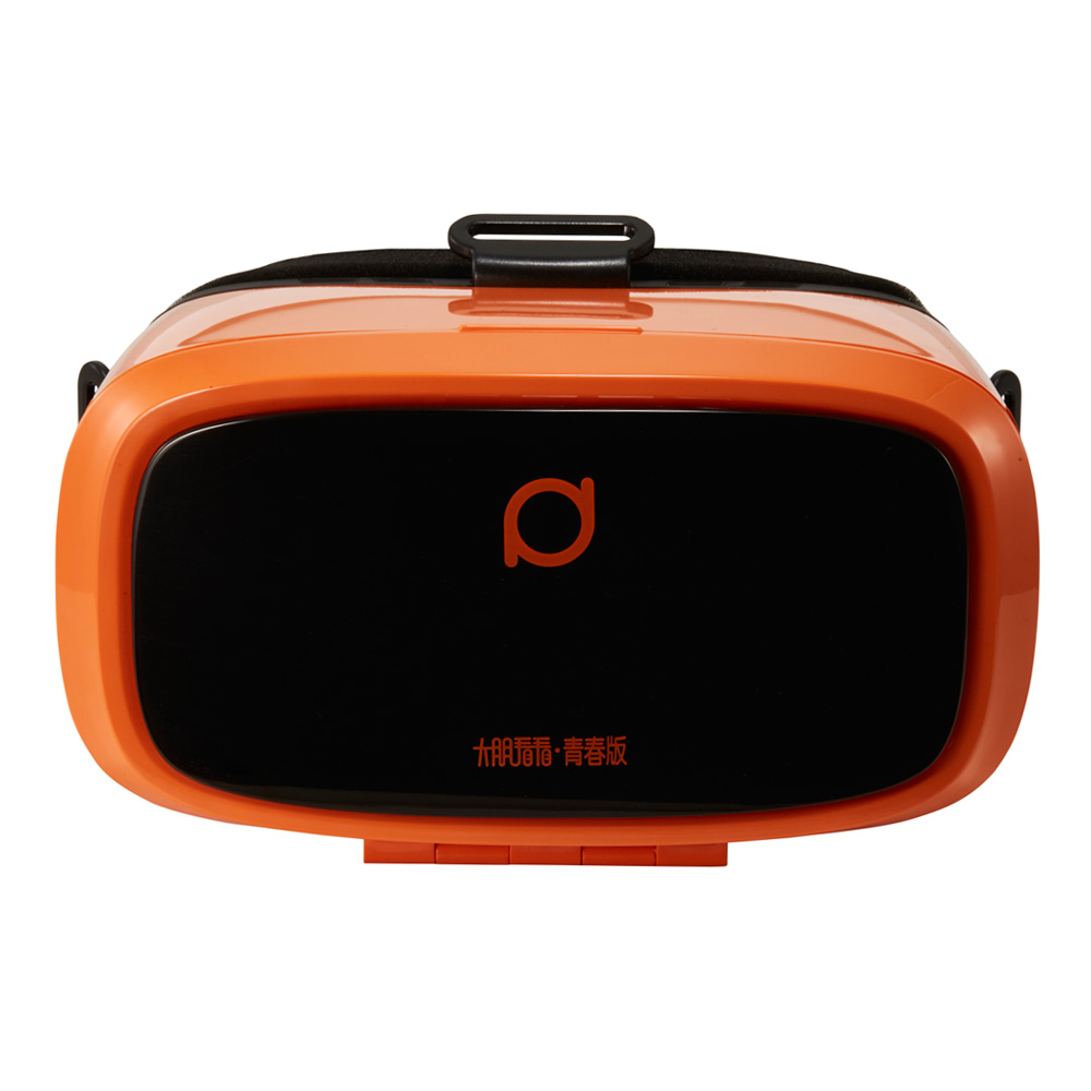 大朋看看 青春版(活力橙) 虚拟现实 VR眼镜 智能眼镜 安卓/IOS兼容 手机影院