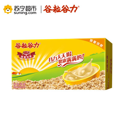 谷粒谷力 燕麦浓浆 含乳饮料 250ml*18/箱 箱装