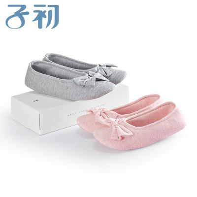 子初月子鞋 孕妇装月子鞋冬季包跟产后防滑软底孕妇鞋