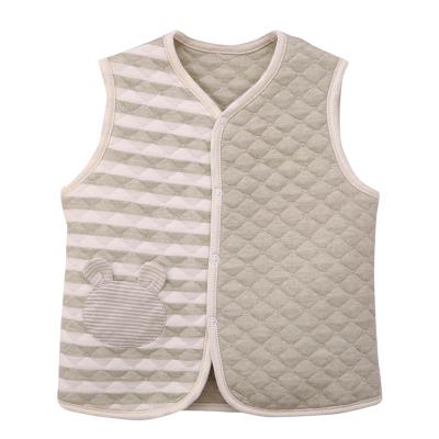 香港亿婴儿 彩棉保暖款婴儿马甲Y2026
