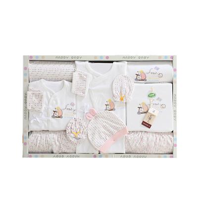 香港亿婴儿 婴儿礼盒新生儿衣服婴儿内衣套装10件套 Y1637