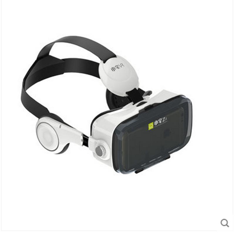 小宅VR Z4 虚拟现实智能VR眼镜3D头盔 白色