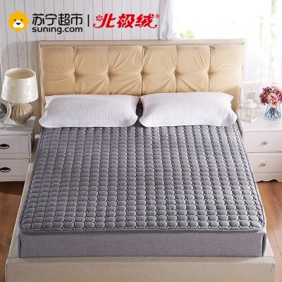 北极绒(Bejirog)简约风可水洗折叠防滑四季单双人床垫床纤维保护垫保洁垫软