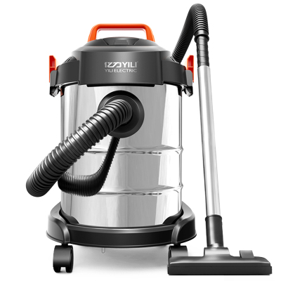 亿力YILI 吸尘器家用商用干湿吹三用吸尘器 大功率桶式无耗材吸尘机YLW6263A-12L