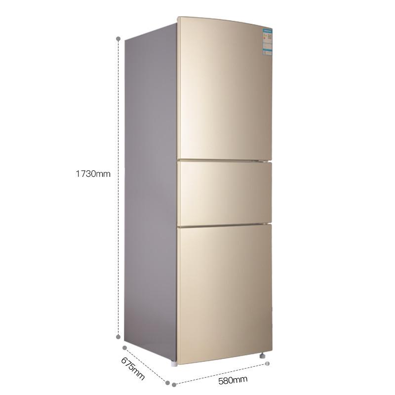 Ronshen 容声 BCD-251WKD1NY  三门冰箱 251升