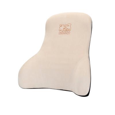 爱车屋(ICAROOM)汽车腰靠 7度记太空忆棉护腰靠垫 办公座椅车用腰枕靠枕四季靠背腰枕羊剪绒