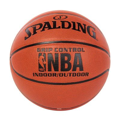 """斯伯丁SPALDING篮球室内室外通用篮球 74-604Y七号篮球 """"掌控""""比赛用球 全粒面 PU材质"""
