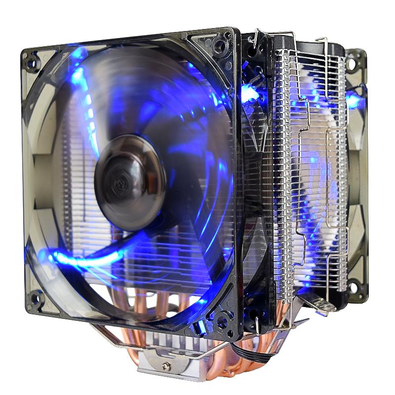 超频三(PCCOOLER)东海X6 CPU散热器(多平台/支持AM4/1151/5热管/PWM温控/12CM静音风扇)