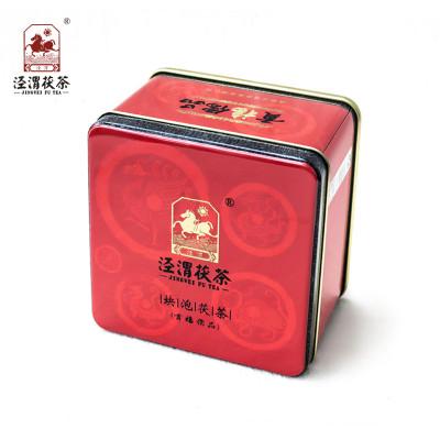 泾渭茯茶 贡福儒品 金花茯茶 茯砖茶 颗粒装 280克 易泡茯茶