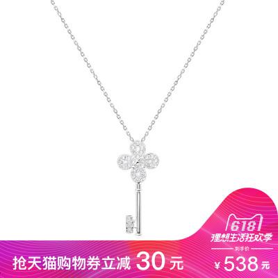 SWAROVSKI施华洛世奇 小圆点单钻水晶项链 人造水晶 送恋人5408442