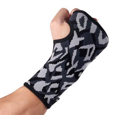 狂迷(kuangmi)护掌半指健身手套护掌登山骑行自行车篮球举重运动护具护腕(单只装)