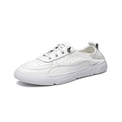 马克华菲女士板鞋2019年夏季新款韩版百搭平底运动休闲单鞋女鞋