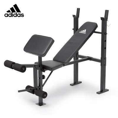 Adidas阿迪达斯多功能哑铃凳仰卧起坐健身器材家用多飞鸟卧推凳