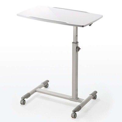 日本山业(Sanwa Supply)移动电脑桌 /可升降 懒人桌/办公桌/讲台/演讲台 100-DESK044