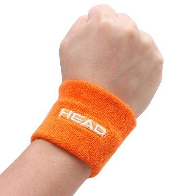 海德HEAD羽毛球 网球 等运动护腕弹力棉舒适一对装运动擦汗防滑