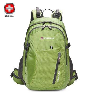 2019新SWISSGEAR双肩包瑞士军刀 防水尼龙防刮户外包登山包男女通用28L运动休闲包旅行背包