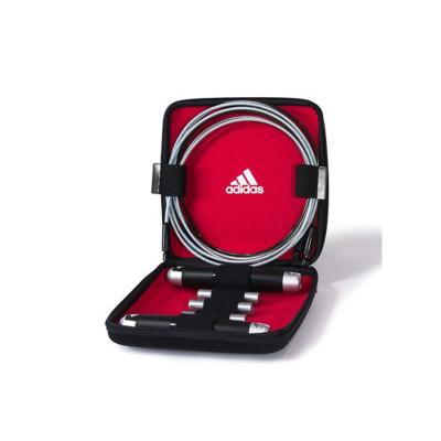 adidas阿迪达斯负重跳绳包邮花式成人专业健身学生比赛运动减肥 高端专业健身跳绳ADRP-11012 包邮