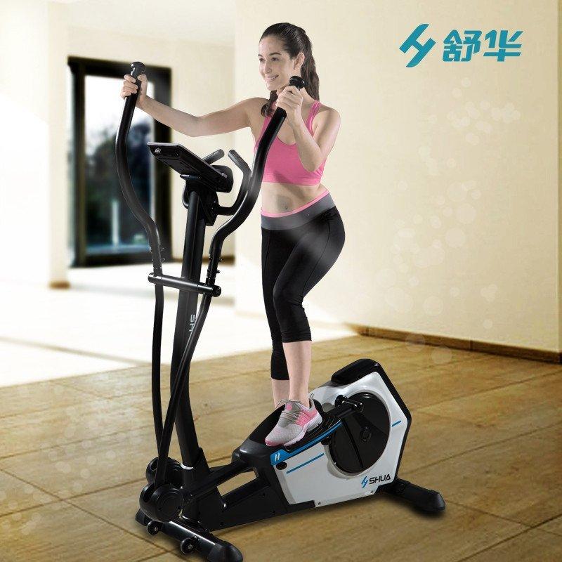 舒华椭圆机家用磁控超静音健身车减肥健身器材