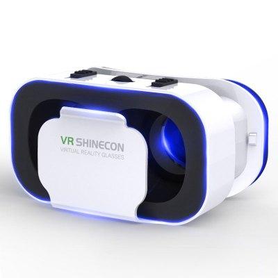 【领券更优惠】G05A千幻五代VR虚拟现实3D眼镜安卓苹果手机头戴式眼睛电影游戏头盔 3D虚拟现实智能眼镜