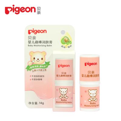 贝亲Pigeon 婴儿趣味润肤膏 宝宝润肤棒 婴儿护肤霜擦脸油面霜 IA169 面霜