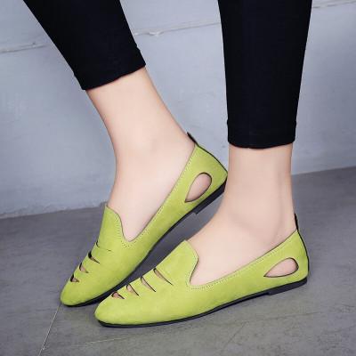 新款韩版包头凉鞋女夏平底学生鞋平跟懒人鞋JM-800 AN-182