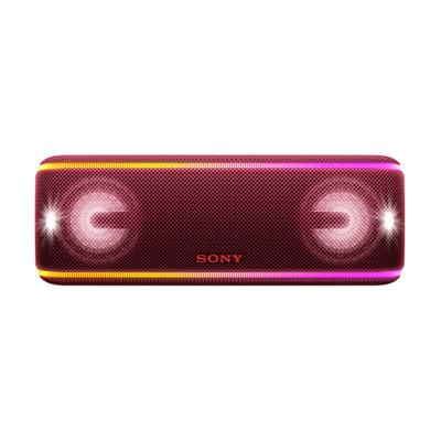 Sony/索尼 SRS-XB41无线蓝牙音箱重低音炮便携家用户外小音响 暗红
