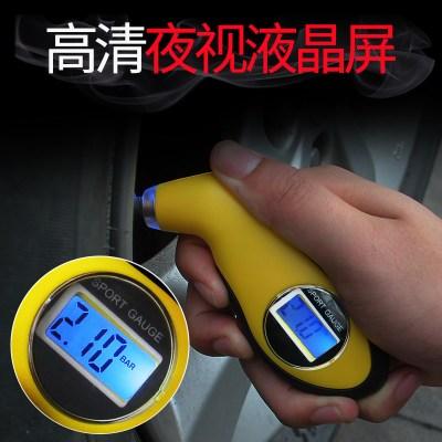 胎压枪气压压力表带充气汽车轮胎压监测器车用高精度数显胎压表头