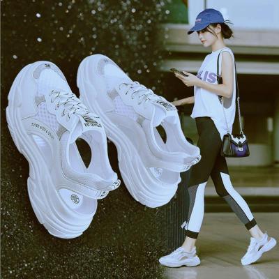 【LI 李公子】【免费试穿】凉鞋女2019夏季新款韩版镂空透气洞洞鞋原宿风平底罗马鞋运动凉鞋